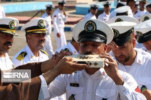 عکس/ اعزام ناوگروه ارتش به مسابقات دریایی روسیه