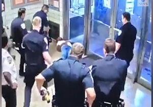 فیلم/ درخواست عجیب شهروند آمریکایی از پلیس