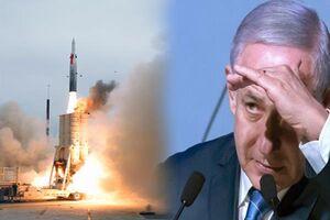 آزمایش موشکی یا مانور تبلیغاتی نتانیاهو +فیلم