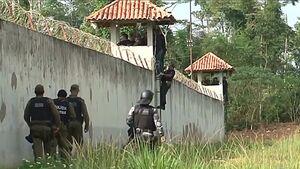 عکس/ شورش مرگبار در زندان برزیل