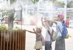 عکس/ گرما در ژاپن ۱۱ قربانی گرفت