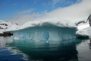 عکس/ زیباییهای قطب جنوب