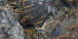 آتش سوزی سیبری روسیه