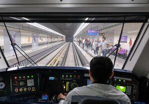 عکس/ مترو پاریس در یک روز کرونایی