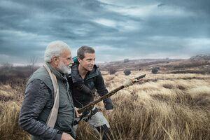 ماجراجویی نخستوزیر هند در طبیعت