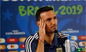 تکلیف سرمربی تیم ملی آرژانتین مشخص شد