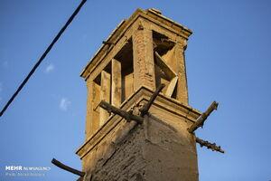 عکس/ حال ناخوش معماری کهن در قم