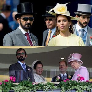 حاکم دوبی همسرش را در لندن به دادگاه میبرد +عکس
