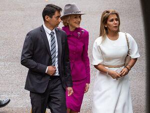 عکس/ همسر حاکم دبی در دادگاه بریتانیا