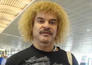 مدل موی عجیب ستاره سابق فوتبال +عکس
