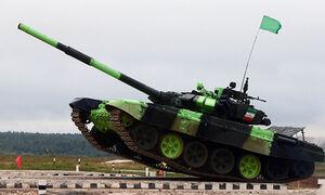 رقابت تانکهای ایران با ارمنستان، روسیه و قرقیزستان