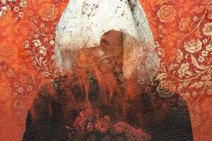 کتاب یک خوشه انگور سرخ - فاطمه سلیمانی ازندریانی - کراپشده