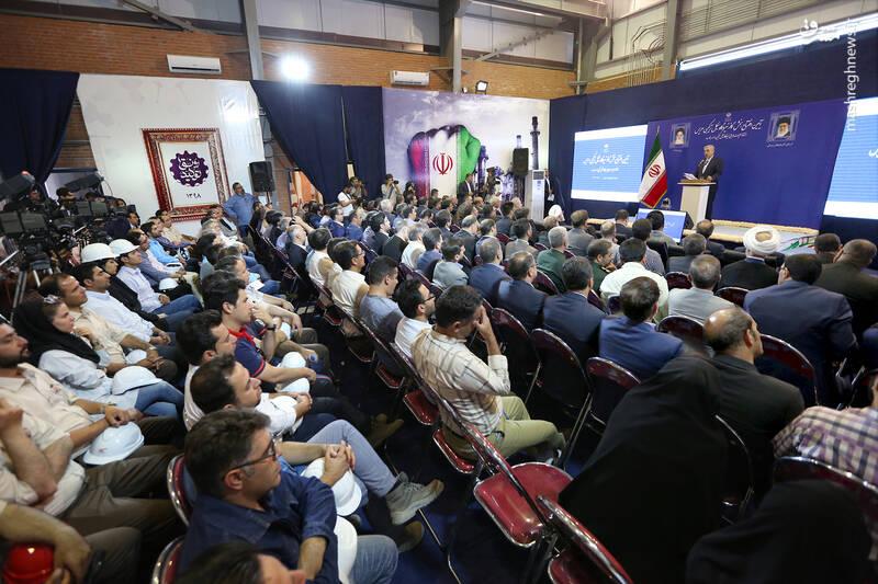 مراسم افتتاح فاز نخست نیروگاه سیکل ترکیبی هریس