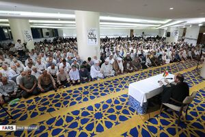عکس/ مراسم دعای کمیل زائران ایرانی در«مکه»