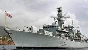 خلیجفارس کابوس نیروی دریایی انگلستان