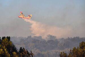 سقوط هواپیمای اطفاءحریق در جنوب فرانسه