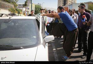 عکس/ بازداشت سارقین خودروهای شمالشهر تهران
