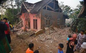 خسارت زلزله مرگبار در اندونزی