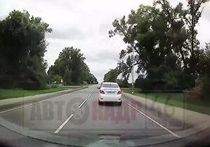 فیلم/ سرعت العمل دیدنی راننده لحظه حادثه!