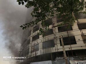 فیلم/ آتش در هتل آسمان آرام گرفت