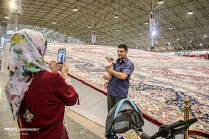 عکس/ نمایشگاه بینالمللی فرش تبریز