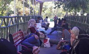 سرگردانی شهرستانیها، کف بیمارستانهای پایتخت +عکس و فیلم
