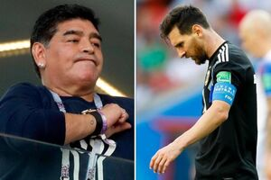 مارادونا: کار مسی مرا به یاد خودم انداخت