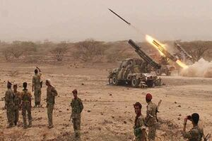 شلیک ۴ موشک ارتش یمن به تجمعات مزدوران در نجران