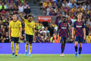 بارسلونا با شکست آرسنال قهرمان شد