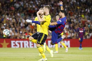 فیلم/ خلاصه دیدار بارسلونا 2-1 آرسنال