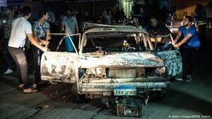 عکس/ ۲۰کشته در تصادف شدید چند خودرو