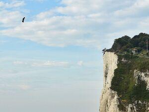 پرواز ۳۵ کیلومتری مرد فرانسوی