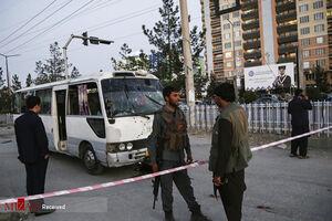 انفجار مینی بوس در افغانستان