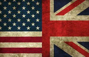 پرچم نمایه انگلیس و امریکا