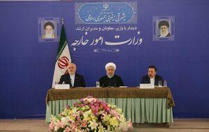 فیلم/ روحانی: ظریف مجتهد سیاسی است