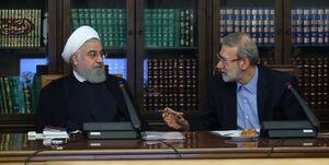 تفاوت روایت لاریجانی و روحانی درباره انتقال شرکت بازرگانی دولتی