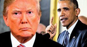 اوباما سکوت در قبال ترامپ را شکست
