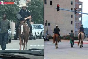 رسوایی جدید پلیس تگزاس +عکس