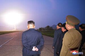 عکس/ کرهشمالی دو موشک دیگر را آزمایش کرد