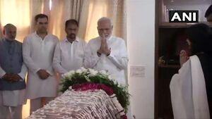 وزیرخارجه سابق هند درگذشت