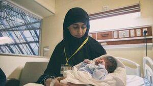 نخستین نوزاد در مناسک حج به دنیا آمد