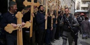 اعتراض مسیحیان قدس