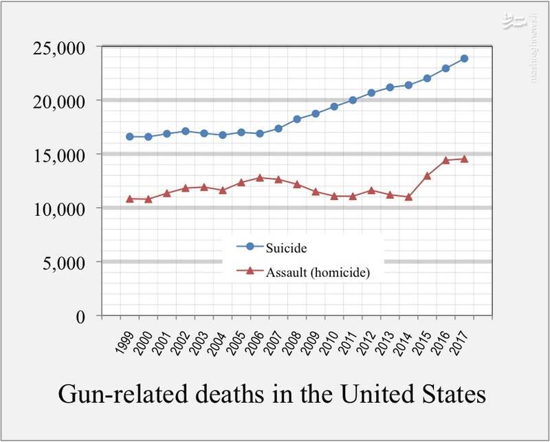 سلاحهای خانگی در آمریکا بیش از آنکه برای کشتن دیگران استفاده شود، صاحبخانه را میکشد!