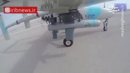 جدیدترین پهپاد بمبافکن ایرانی مسلح شد