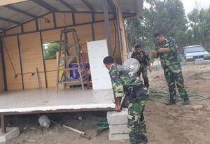 تخریب ساخت و ساز غیرمجاز در ساری +عکس