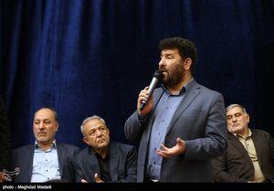عکس/ شعرا و مداحان در مراسم ختم محمدباقر منصوری