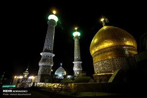 برگزاری مراسم روز مباهله در حرم حضرت عبدالعظیم (ع)
