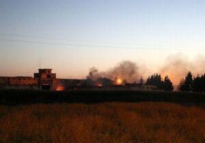 فیلم/ انفجار مرگبار در انبار مهمات بغداد