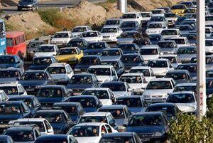 ترافیک سنگین در بازگشت از شهرهای شمالی کشور