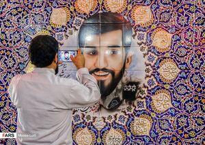 عکس/ حال و هوای مزار شهید «محسن حججی»